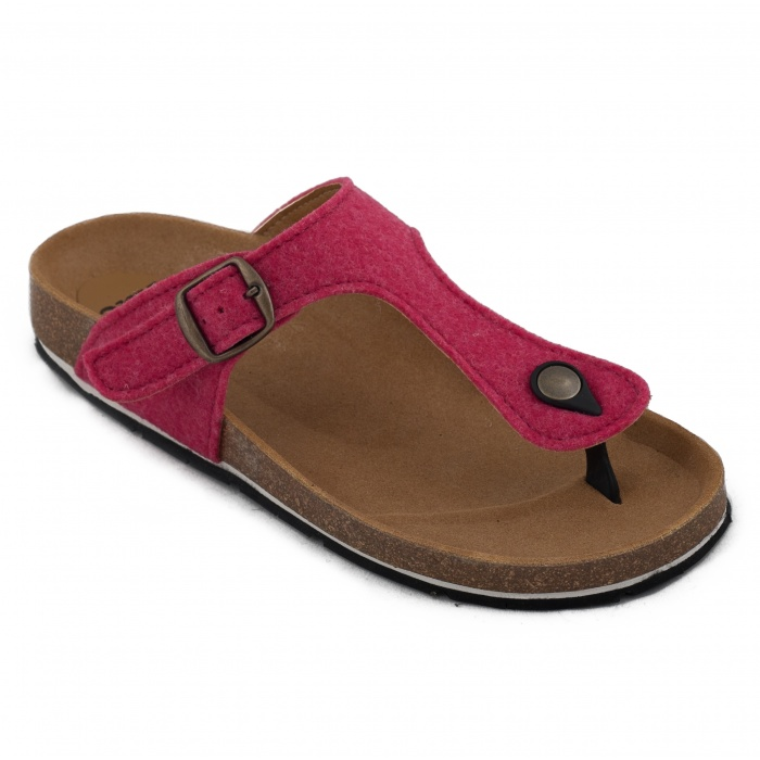 Woman vegan sandal