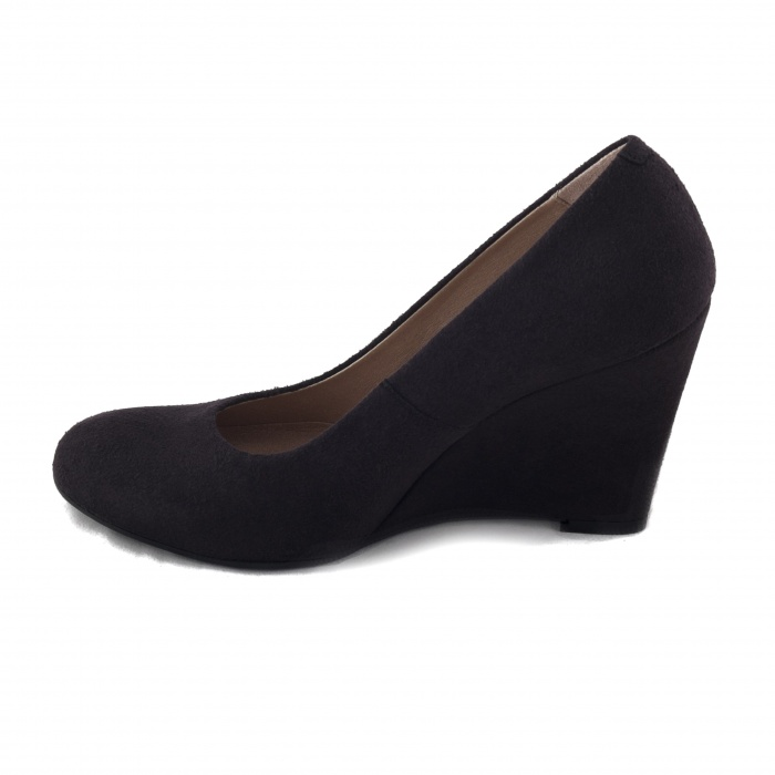 Woman vegan wedge shoe