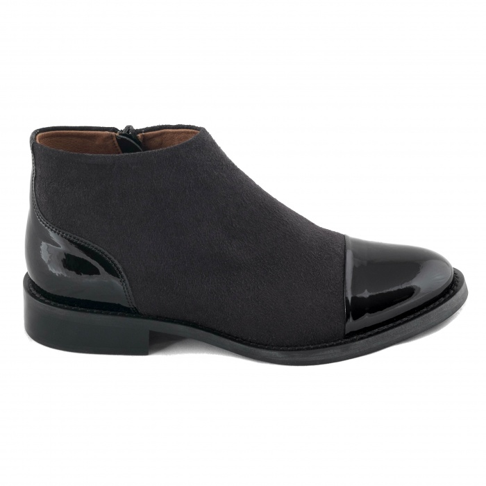 woman vegan ankle boots
