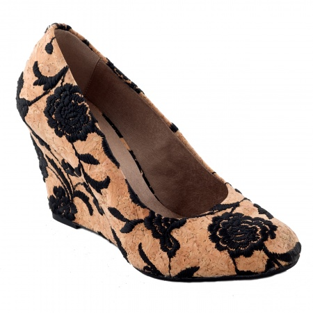 Dalia Woman vegan wedge shoe cork