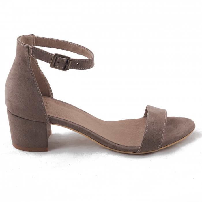 Woman vegan ankle strap sandal