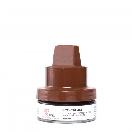 Eco polish cream brownvegan