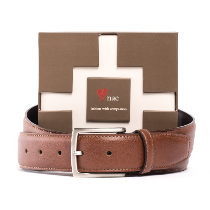 Man vegan belt