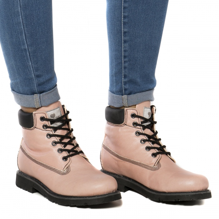 vegan boots man woman recycled airbag