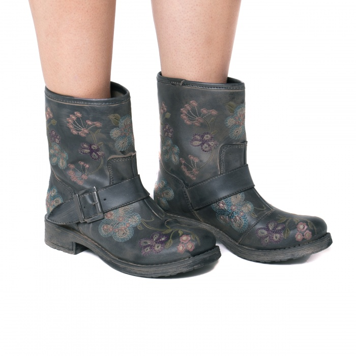 Vegan Biker Boot