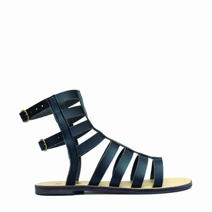 Woman vegan gladiator sandals