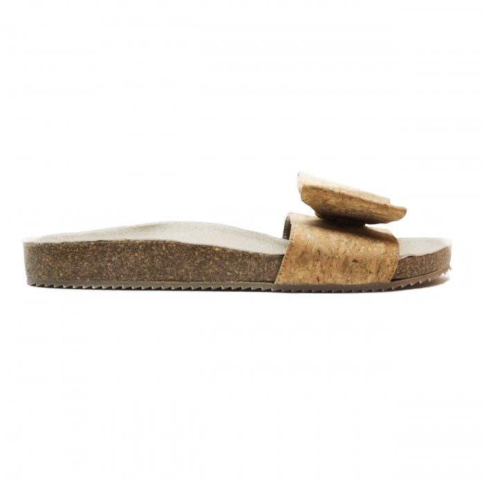 Woman vegan sandal cork