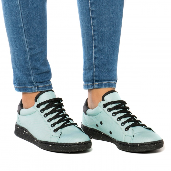 Airbag Green vegan sneakers man woman unisex