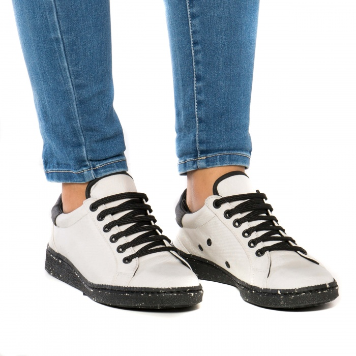 Airbag White vegan sneakers man woman unisex