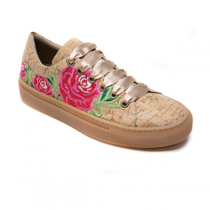 Rose Cork Woman vegan sneaker