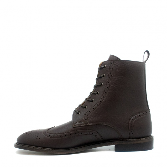 Alex Brown man vegan brogue wing tip toe boots