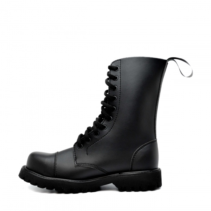 Vegan Steel Toecap Boots Man Woman