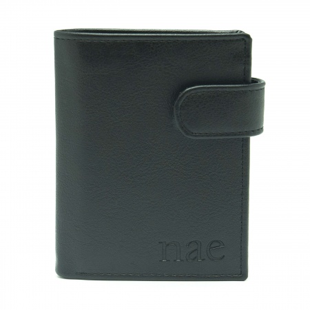 denver black wallet man clip classic coin pocket vertical vegan